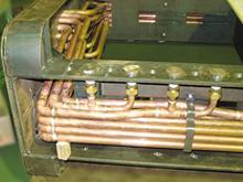 機器配管施工例(銅、銅+真鍮)
